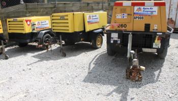 Range of Towable Diesel Air Compressors